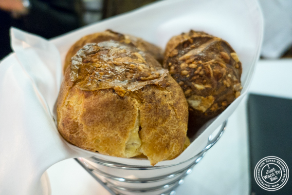 Popovers at Davio's Italian Steakhouse in NYC, NY