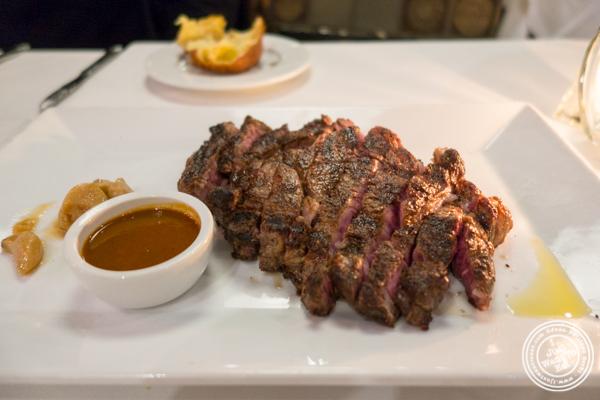 Ribeye at Davio's Italian Steakhouse in NYC, NY
