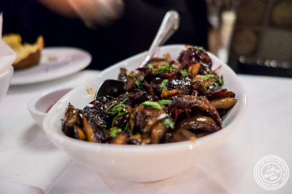 Mushrooms at Davio's Italian Steakhouse in NYC, NY