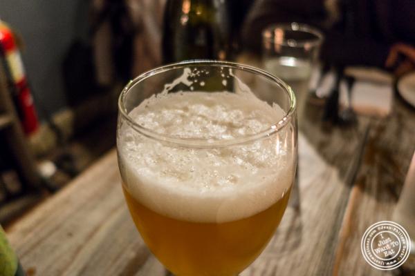Jack's Abby Hoponius Union beer at LIC Market in Long Island City