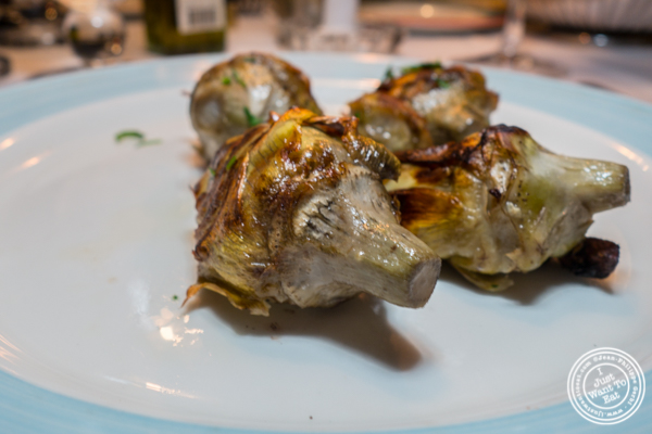 Artichokes at Lattanzi in NYC, NY