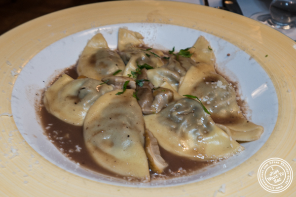 Ravioli at Lattanzi in NYC, NY