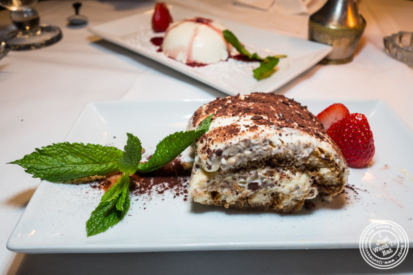Tiramisu at Lattanzi in NYC, NY