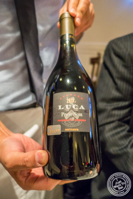 Pinot Noir, Luca, 2013 at Chimichurri Grill West in Hell's Kitchen