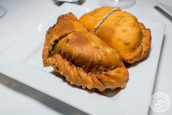 Empanadas at Chimichurri Grill West in Hell's Kitchen