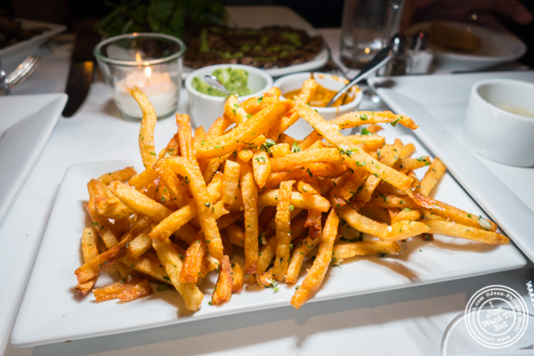 Seasoned fries at Chimichurri Grill West in Hell's Kitchen