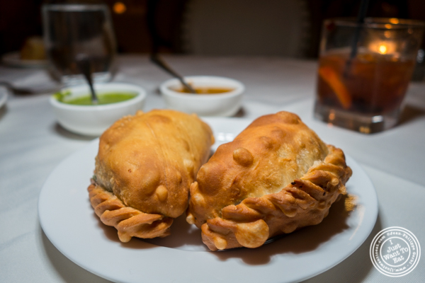 Empanadas at Chimichurri Grill East in NYC, NY