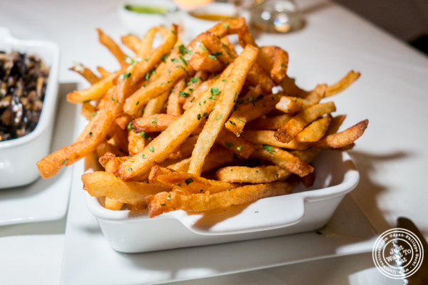 French fries at Chimichurri Grill East in NYC, NY