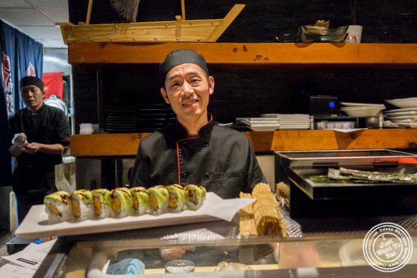 Chef Henry Yang at Alpha Fusion in NYC, NY
