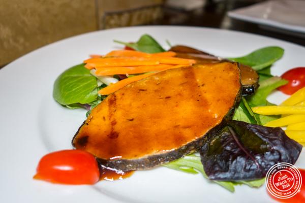 Fish steak at Alpha Fusion in NYC, NY