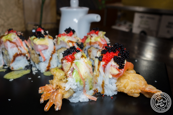 Jimmy's sexy roll at Alpha Fusion in NYC, NY