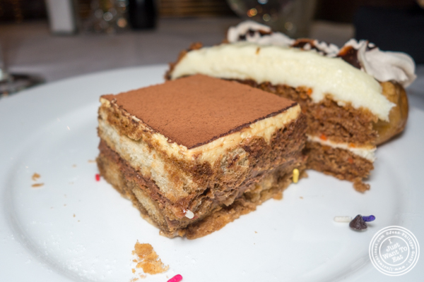 Tiramisu at Lincoln Square Steakhouse on the Upper West Side, NYC