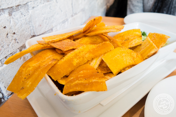 Plantains at Empanada Mama in Hell's Kitchen