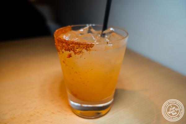 Sukoto cocktail at Morimoto in NYC, NY