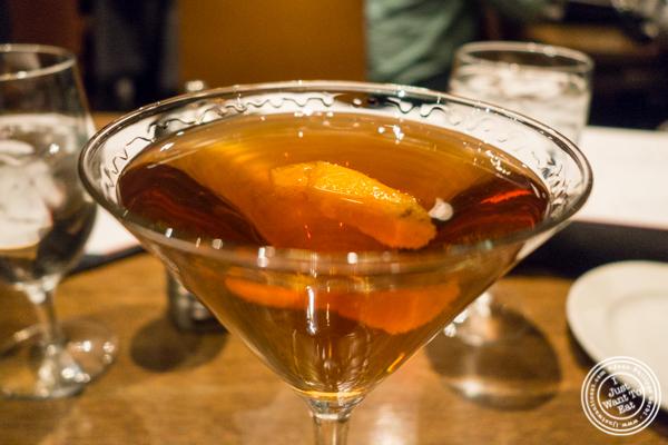 Test Drink No 7 cocktail at Del Frisco's Grille at the Rockefeller Center