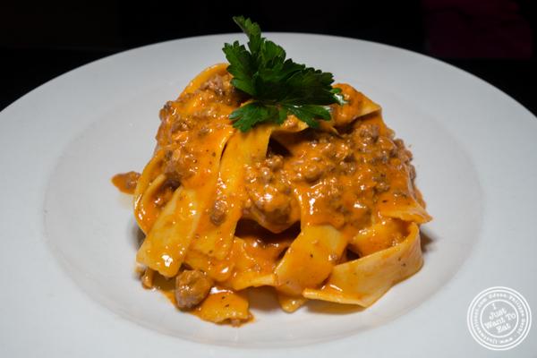 Fettuccine a la Bolognese at Bocca di Bacco in Hell's Kitchen