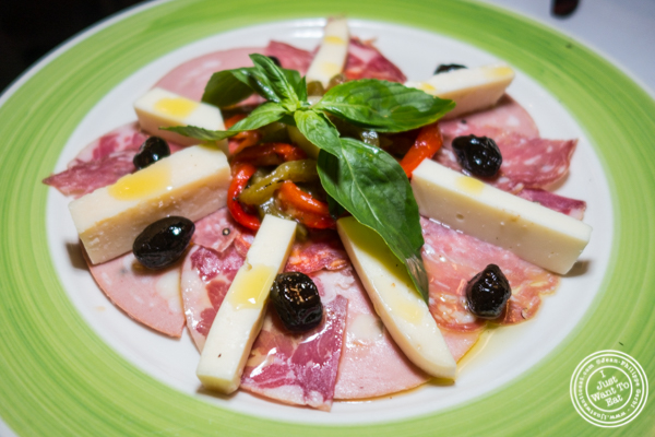 Antipasto italiano at Da Marino in Times Square