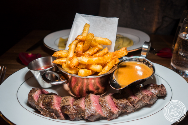 Steak frites at Boucherie Park Avenue South