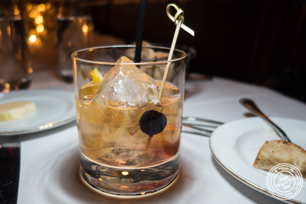 Old fashioned at Boucherie in the West Village