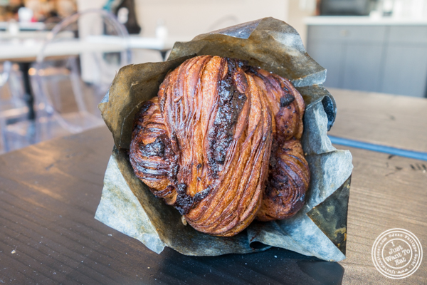 Chocolate babka at Choc-O-Pain, Uptown Hoboken, NJ