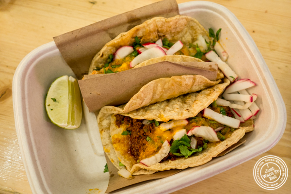 Tacos at La Palapa at Urbanspace Vanderbilt