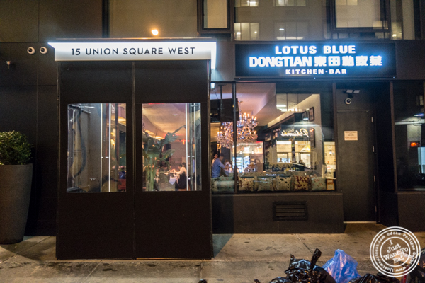 Lotus Blue Dongtian Kitchen and Bar in NYC, NY