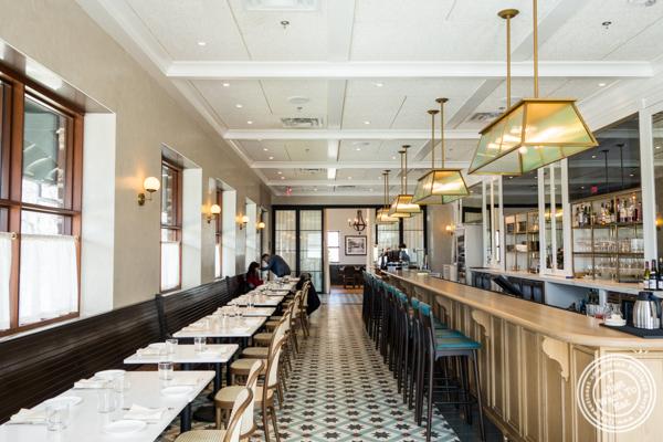 Dining room at Cargot Brasserie in Princeton, NJ