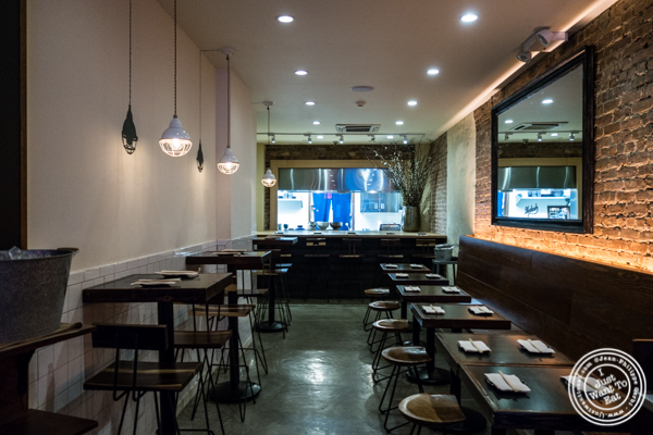 Dining room at Method in Hell's Kitchen, NYC, NY