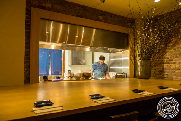 Open kitchen at Method in Hell's Kitchen, NYC, NY