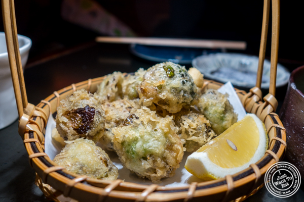 Brussels sprouts tempura at Method in Hell's Kitchen, NYC, NY