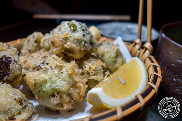 Brussels sprout tempura at Method in Hell's Kitchen, NYC, NY