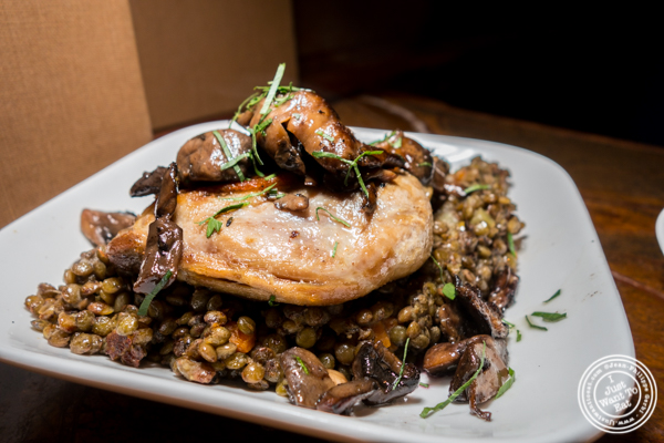 Duck confit at Vintry, Wine and Whisky Bar in the Financial District