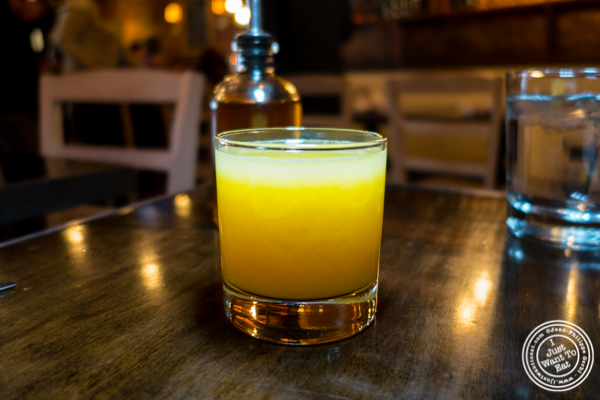Fresh squeeze orange juice at Annabel in Hell's Kitchen