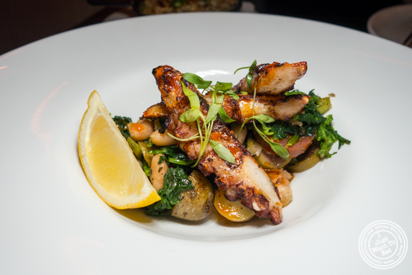 Grilled octopus at Annabel in Hell's Kitchen