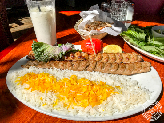 Kubideh at The Persian Room in Phoenix, Az