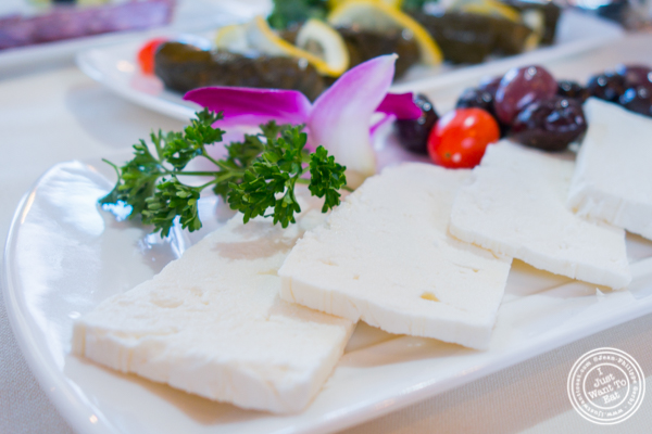 Feta cheese at Sevan in Bayside, Queens, NY