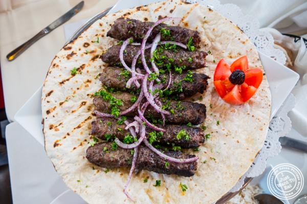 Lule kebab at Sevan in Bayside, Queens, NY