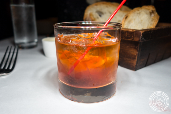 Old Fashioned at Raoul's in Soho, NYC, NY