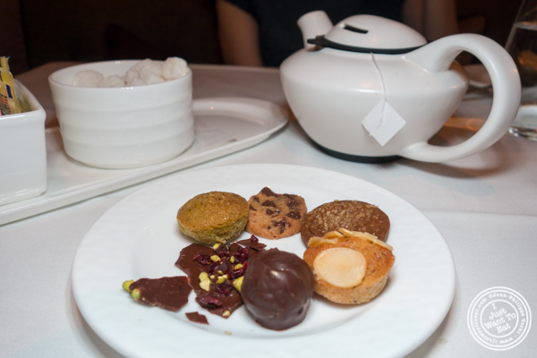 Cookies at Aureole in NYC, NY