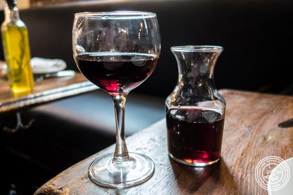 Glass of Guerrouane at Barbes in Hoboken, NJ