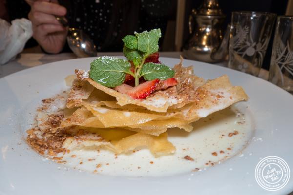 Pastilla at Barbes in Hoboken, NJ