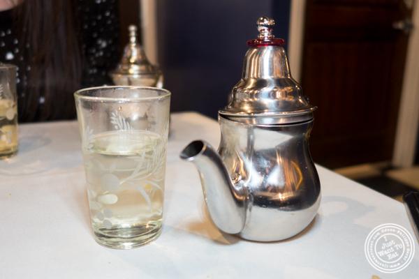 Mint tea at Barbes in Hoboken, NJ