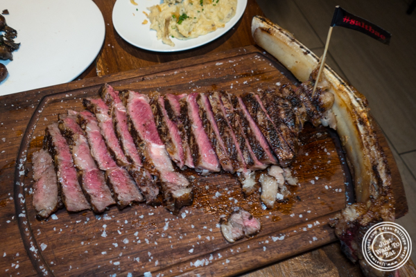 Tomahawk at Nusr-Et Steakhouse in NYC