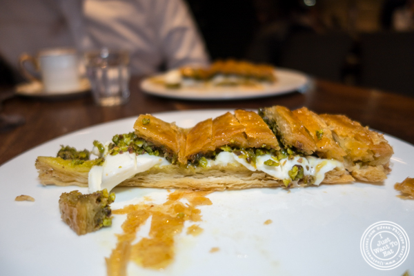 Baklava at Nusr-Et Steakhouse in NYC
