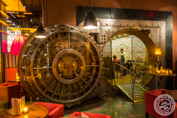 Vault at Butcher and Banker steakhouse in NYC, NY