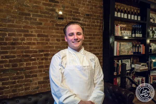 Executive Chef Matthew Sadownick at Ruumy's Tavern in Hell's Kitchen