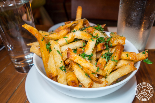 French fries at Ruumy's Tavern in Hell's Kitchen