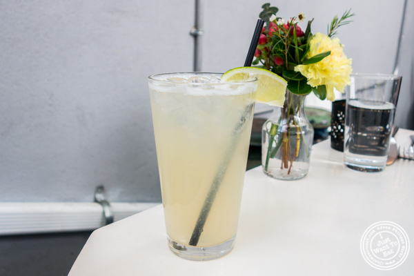 Lemonade at Casa Enrique in Long Island City