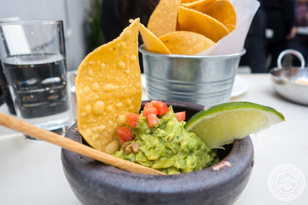 Guacamole at Casa Enrique in Long Island City