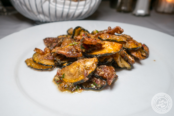 Zucchini at Il Falco in Long Island City